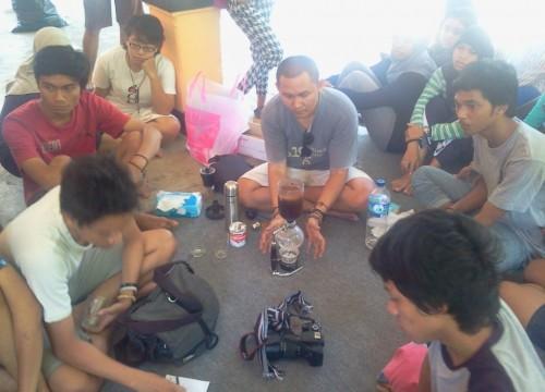 @klinikkopi hadir di tengah-tengah @MerajutBambu