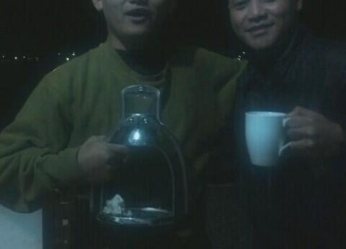 @kopiklinik bersama mas @dimrez  pernah minum kopi Masuk UGD