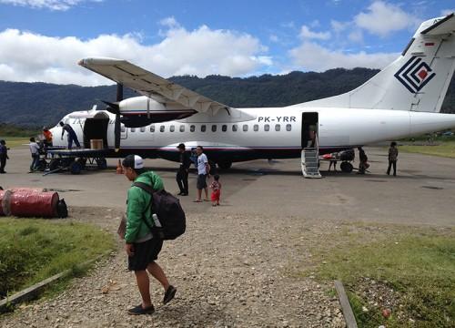 Pendampingan pengolahan kopi Ke Oksibil Pegunungan Bintang Papua.