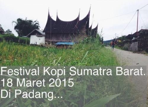 Festival Kopi Sumatra Barat 2015