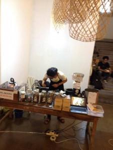 Klinik kopi di Jagongan Media Rakyat