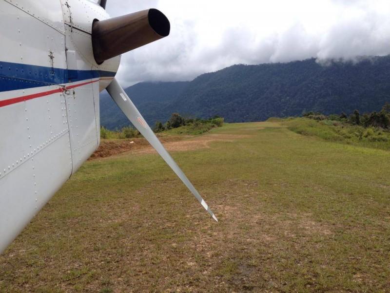 Pesawat Pilatus Di Oksibil